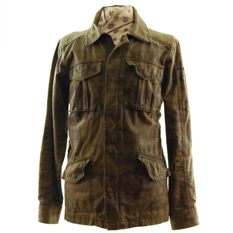 O'Neill Camo Military Inspired Jacket