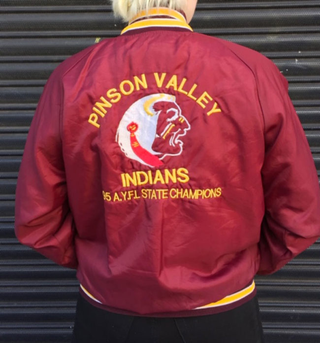 Pinson Valley Indians Baseball Jacket