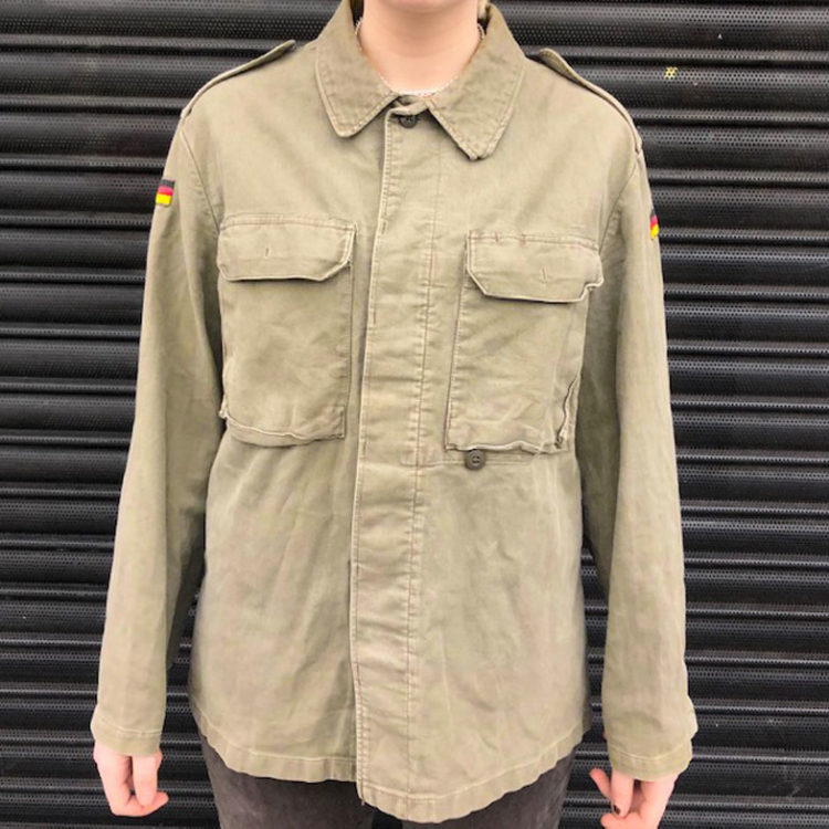 Plain Green German Camouflage Jacket