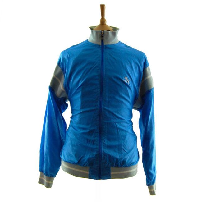 Puma Baby Blue Windbreaker Jacket