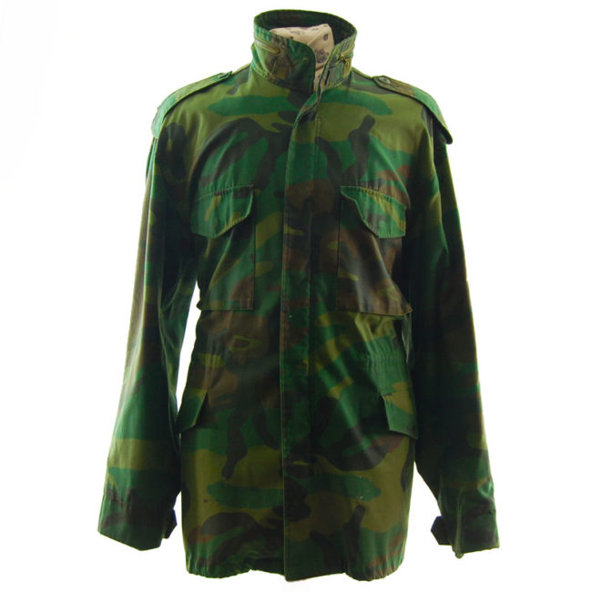 Real Military Camouflage Jacket