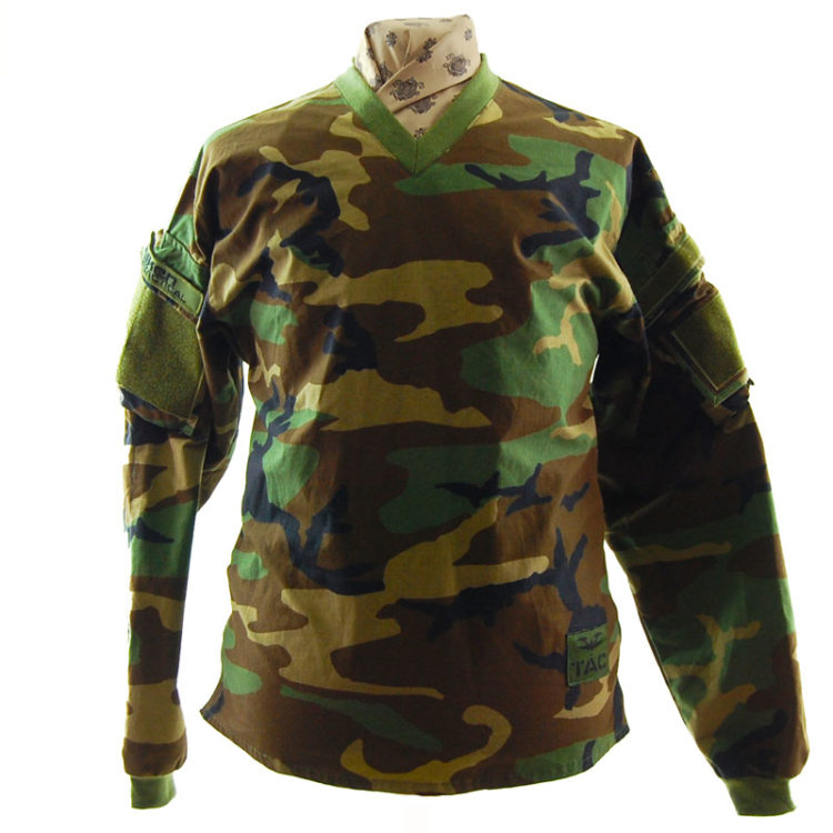 T.A.C Camouflage Long Sleeve Top