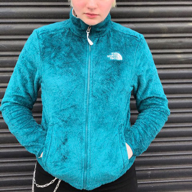 The North Face Teal Green Hoodie