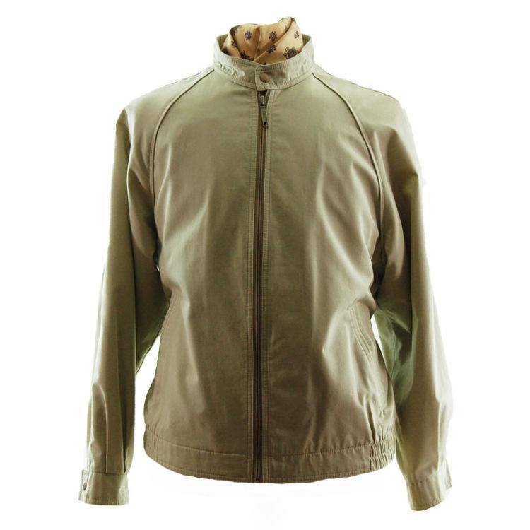 Vintage Mens Cream Long Jacket
