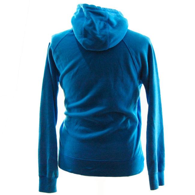 back of Nike Dusty Blue Hoodie