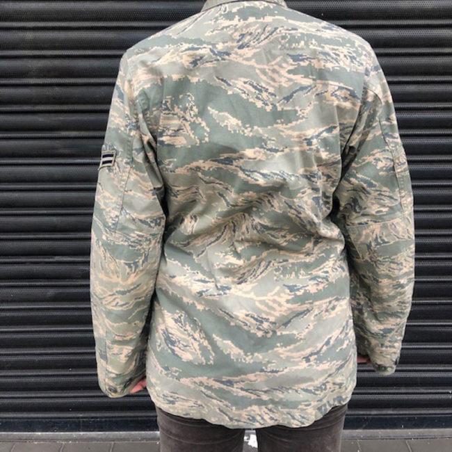back of U.S Air Force Digital Camouflage Jacket