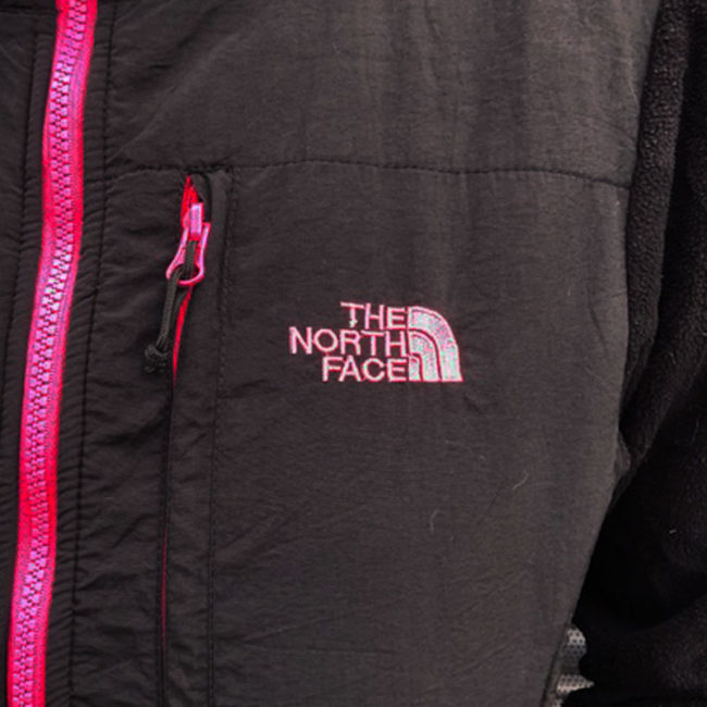 close up of The North Face Black Hoodie