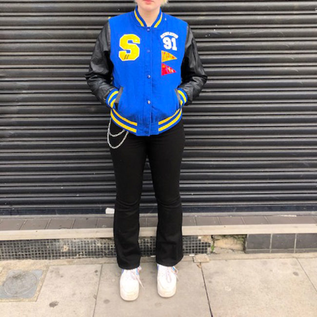 Vintage Womens Baseball Jacket