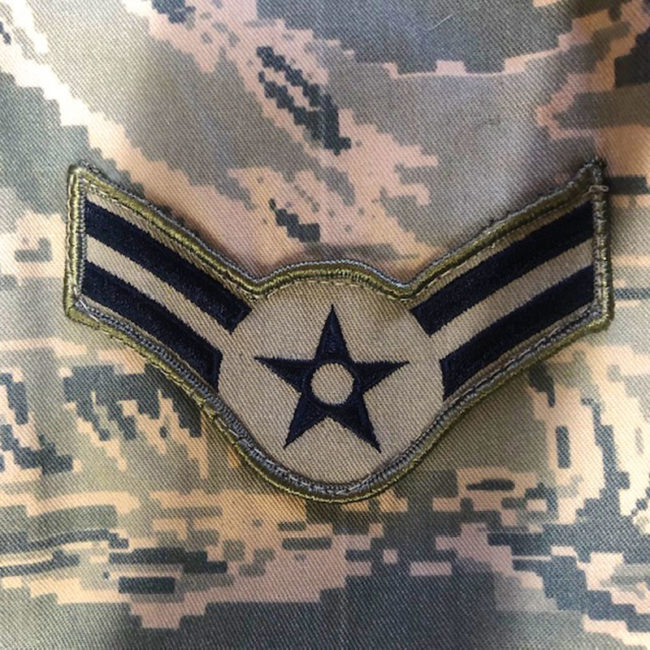 label 3 U.S Air Force Digital Camouflage Jacket