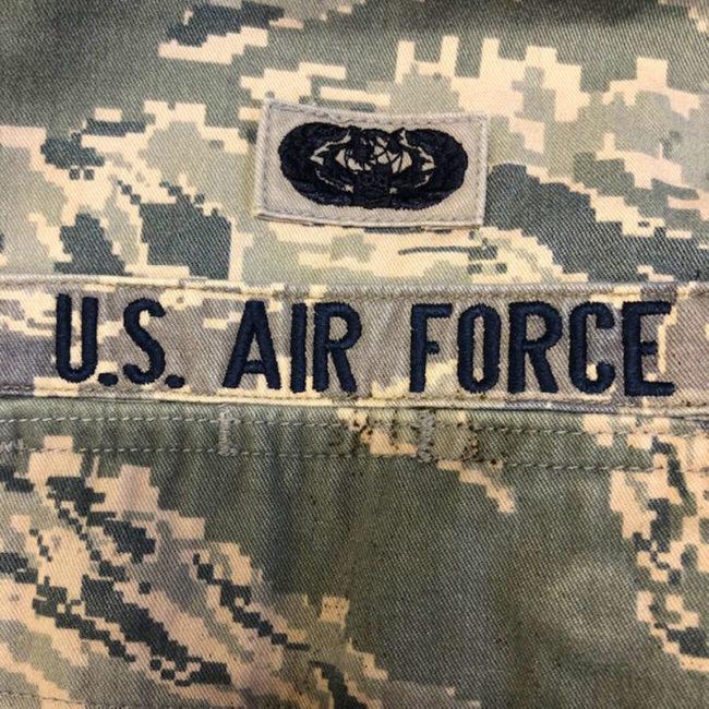 U.S Air Force label