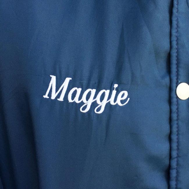 name on Soccer Club Baseball Jacket