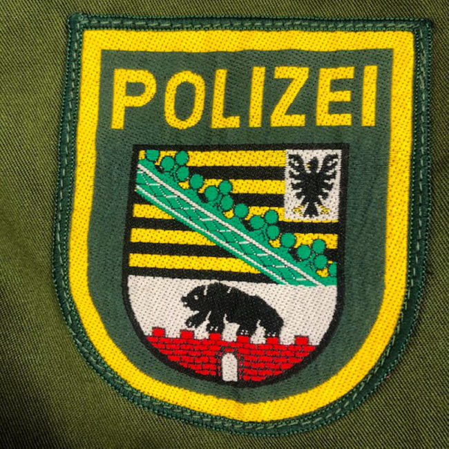 patch on 1995 German Polizei Jacket