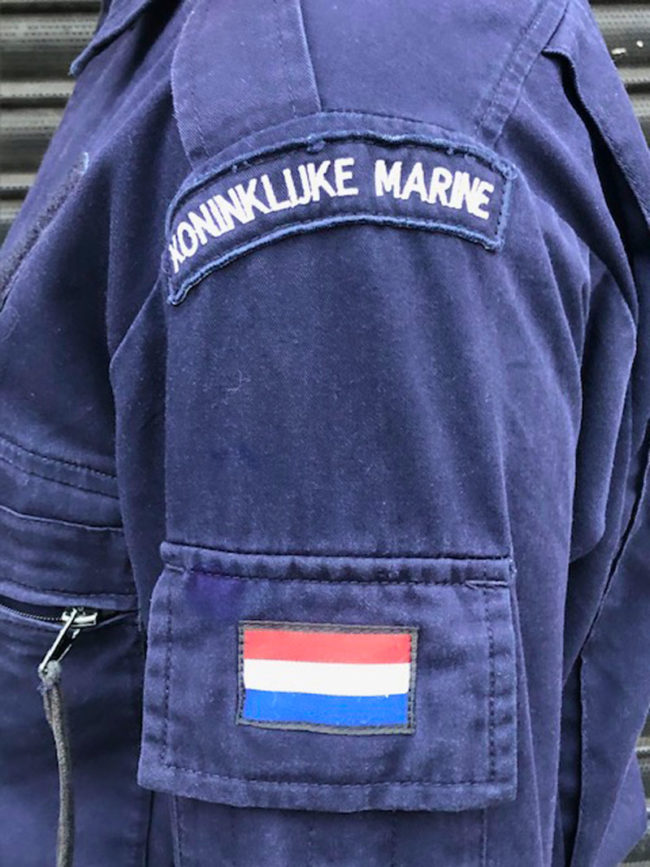 patches of Royal Netherlands Navy Jacket