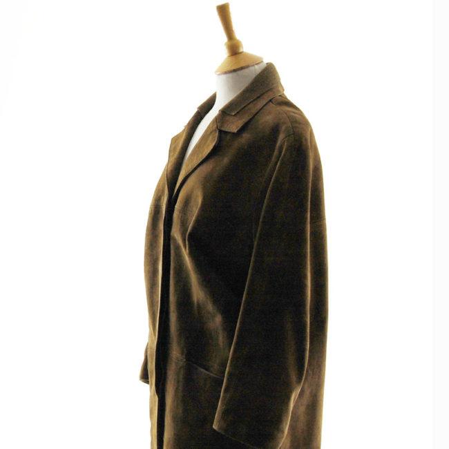 side of 70s Vintage Suede Jacket