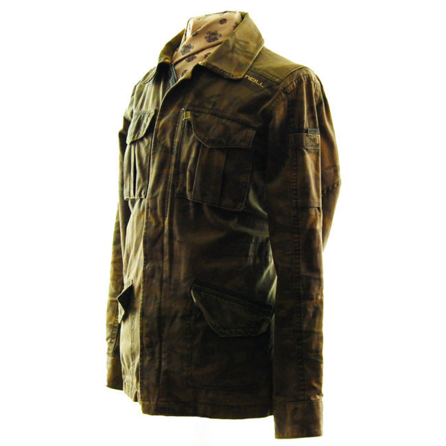 side of O'Neill Camo Military Inspired Jacket