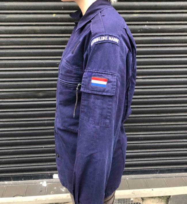 side of Royal Netherlands Navy Jacket
