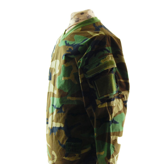 side view T.A.C Camouflage Long Sleeve Top