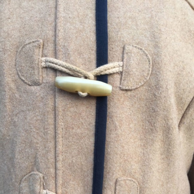toggles for Tommy Hilfiger Beige Duffel Coat