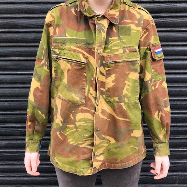 1990 Netherlands Camouflage Jacket