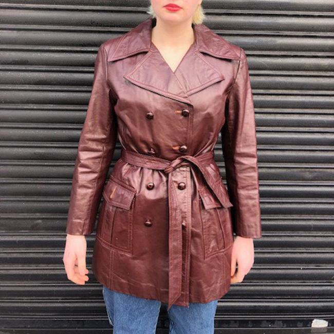 70s Genuine Leather Jacket