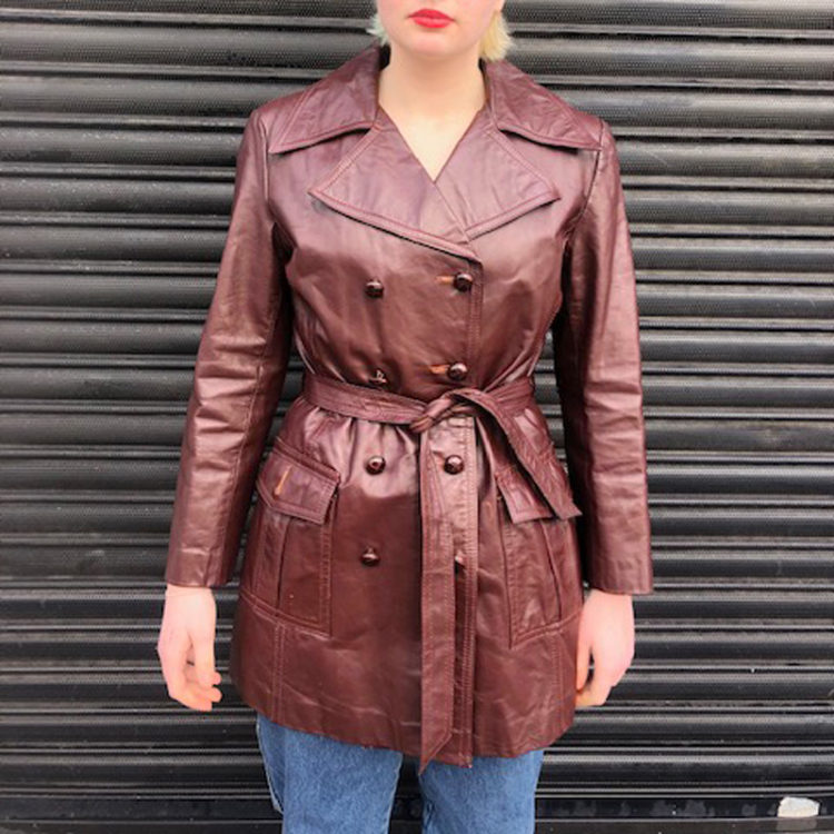 70s Genuine Leather Jacket
