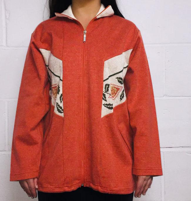 80s Vintage Knit Jacket