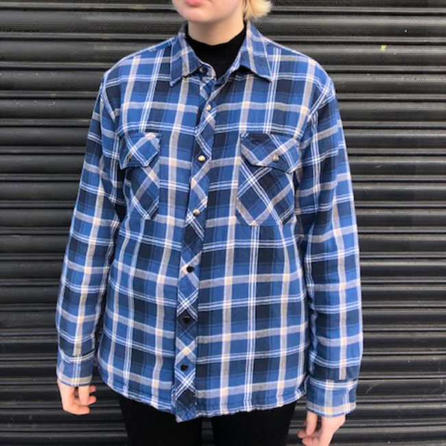 B.C Clothing Quilted Checkered Shirt