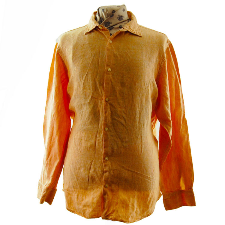 Banana Republic Orange Shirt