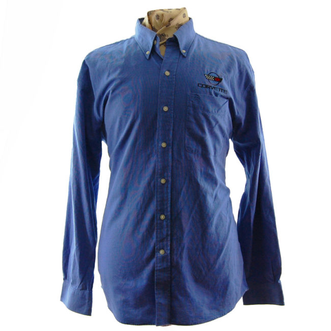Blue Corvette Work Shirt
