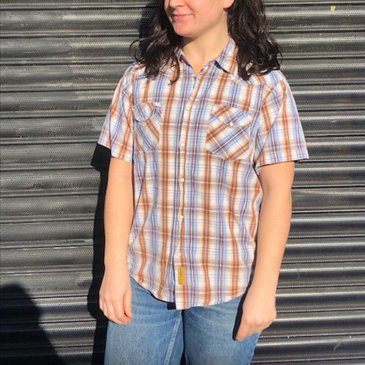 70s Double G Western Shirt
