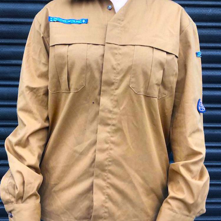 Finnish Girl Scouts Guide Shirt