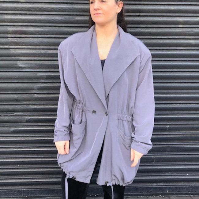 Klein Petit Paris Silk Jacket