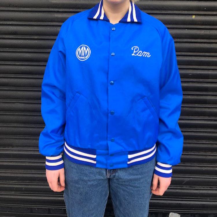 MM inc Baseball Jacket