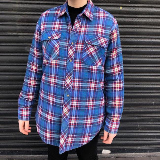 Northwest Territory Blue Checkered Shirt