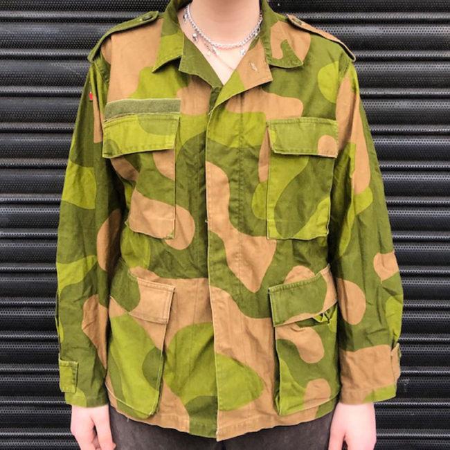Norwegian Woodland Camouflage Jacket