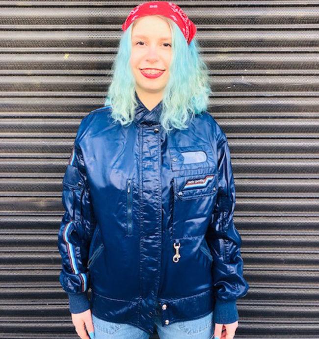 Rare Sachs Sporting Dark Blue Jacket