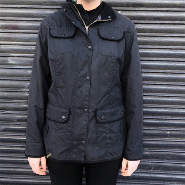 Real Barbour Winter Jacket