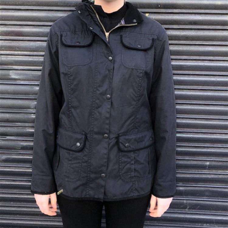 Womens Black Barbour Jacket