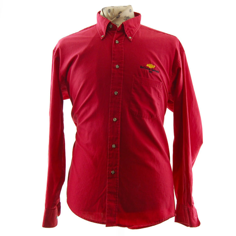 Red Mc'Clinton Chevrolet Shirt