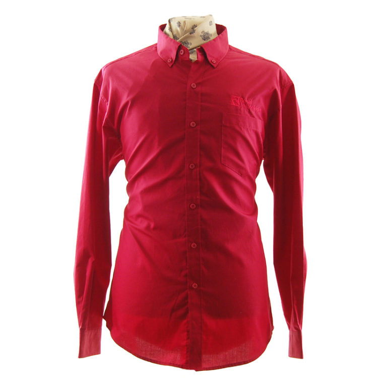 Red Royal Technologies Work Shirt