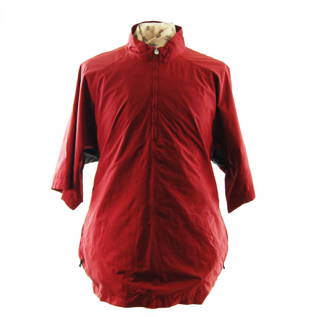 Vintage Adidas Red Windbreaker