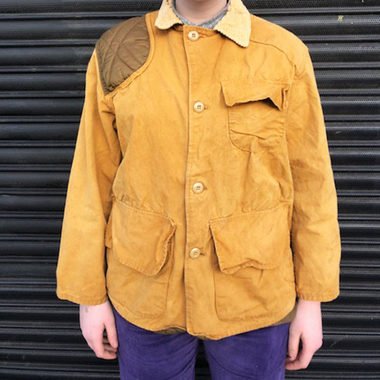 Vintage Canvas Hunting Jacket