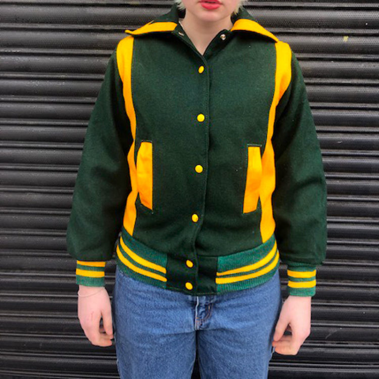 Vintage Wool Baseball Jacket