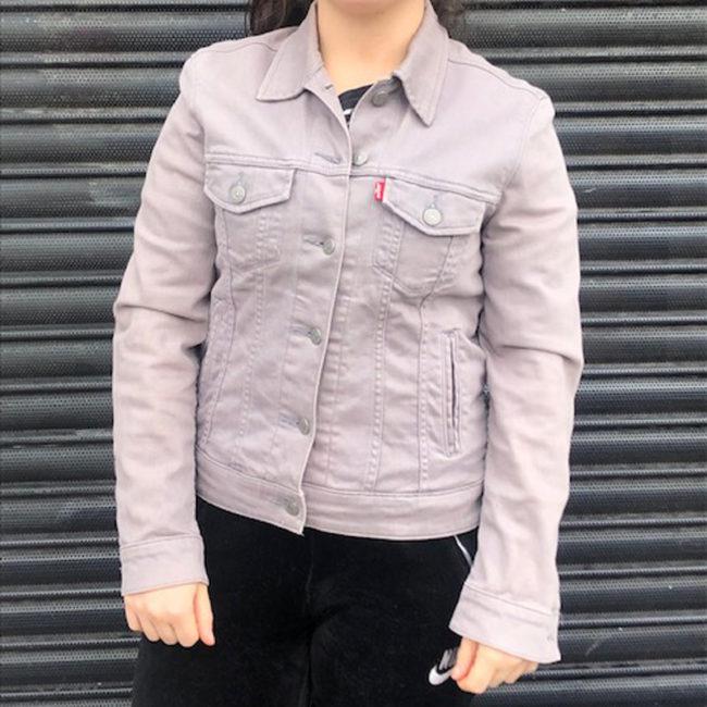 Womens Levi's Grey Denim Jacket