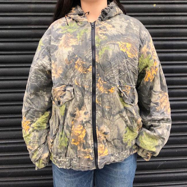 Woodland Camouflage Hunting Jacket