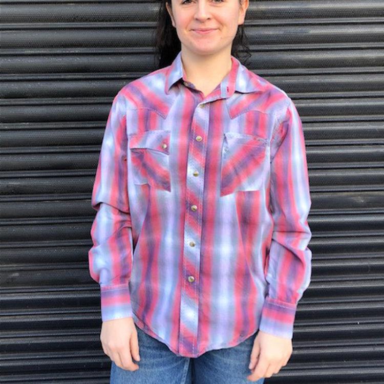 Wrangler Cowboy Western Shirt