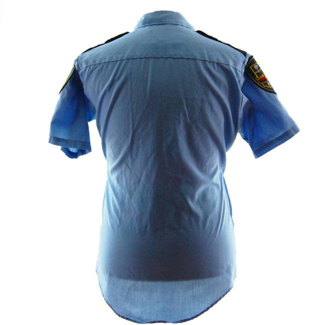 back of 1985 Criminal Justice Shirt