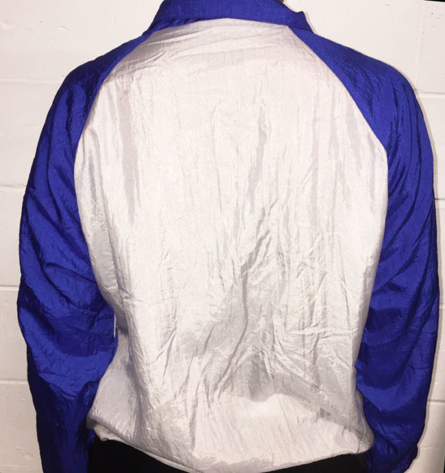 back of 90s Sports Wear Jacket