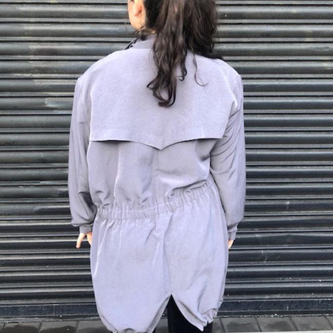 back of Klein Petit Paris Silk Jacket