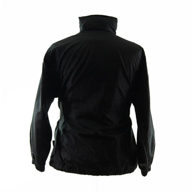 back of Puma Black Block-Colour Windbreaker
